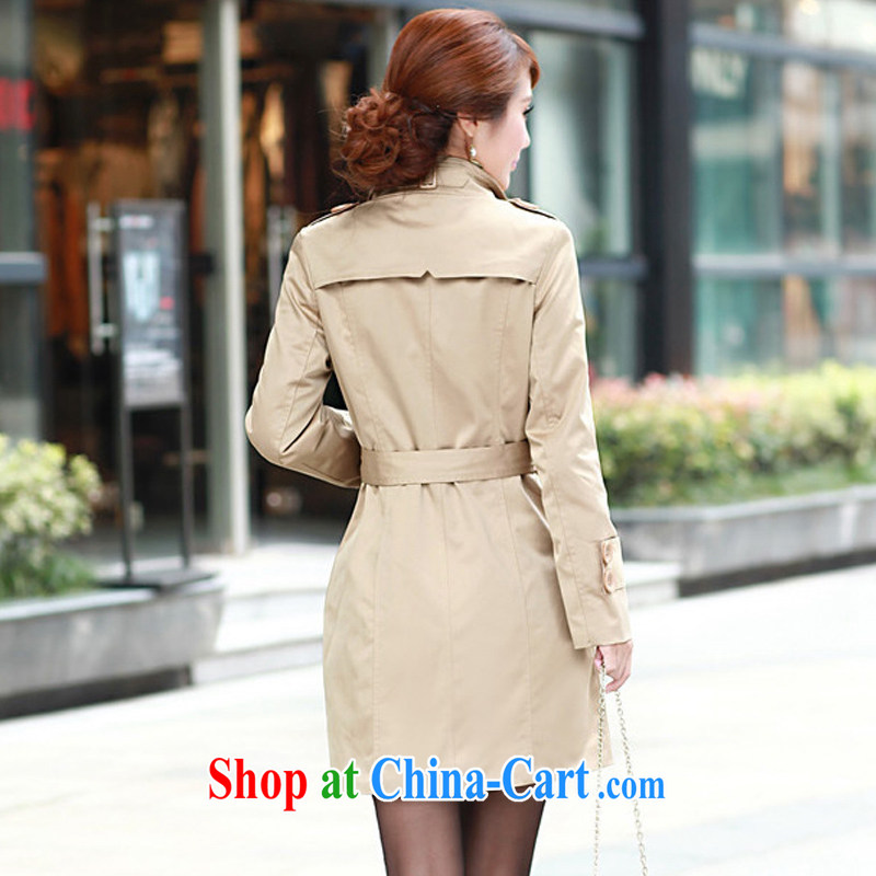 Pi-optimized Connie 2014 autumn and winter new Korean Beauty double-graphics thin thick mm long, XL clothes clothes girl jacket 58 cards with 4 XL recommendations 145 - 160 jack, Pi-optimized Connie, and shopping on the Internet