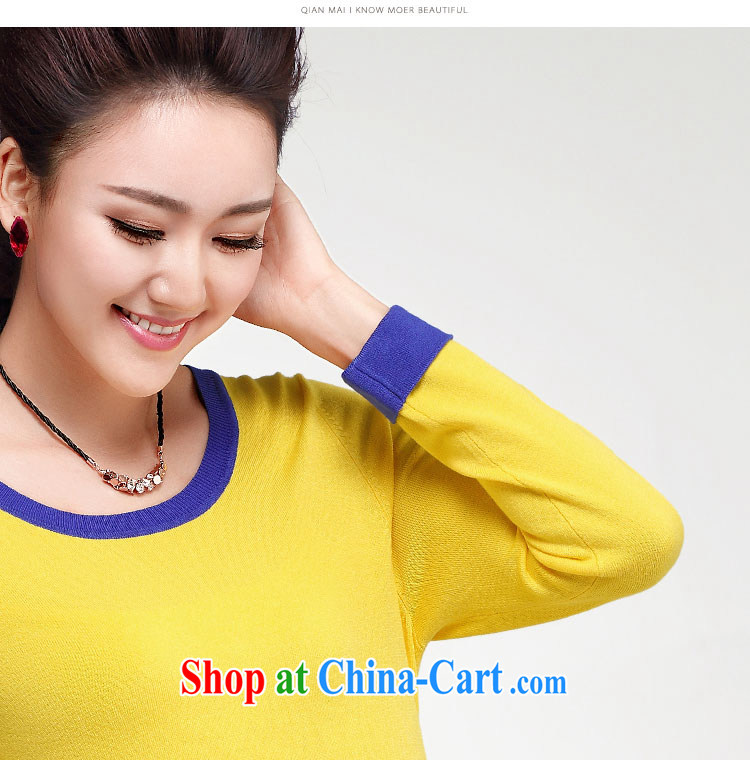 Autumn 2014 the former Mr Big, female new thick mm stylish knocked color stitching H-sweater S 13,035 green XXXL pictures, price, brand platters! Elections are good character, the national distribution, so why buy now enjoy more preferential! Health