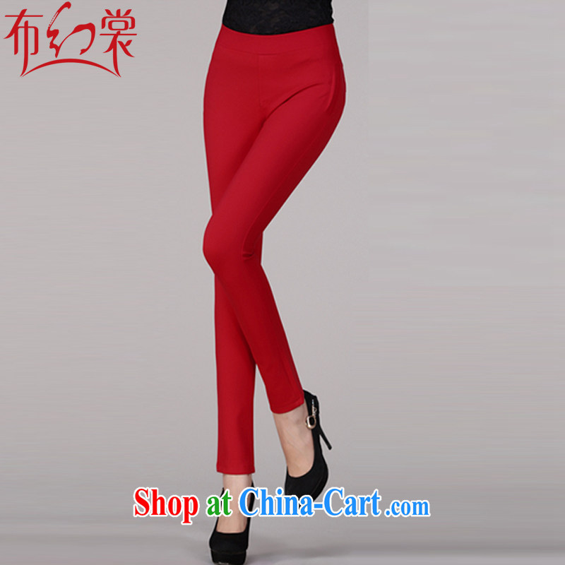 The Advisory Committee was spring loaded new, larger female trousers pants female beauty video skinny legs pants pencil trousers trousers KK 8852 red XXXXXL