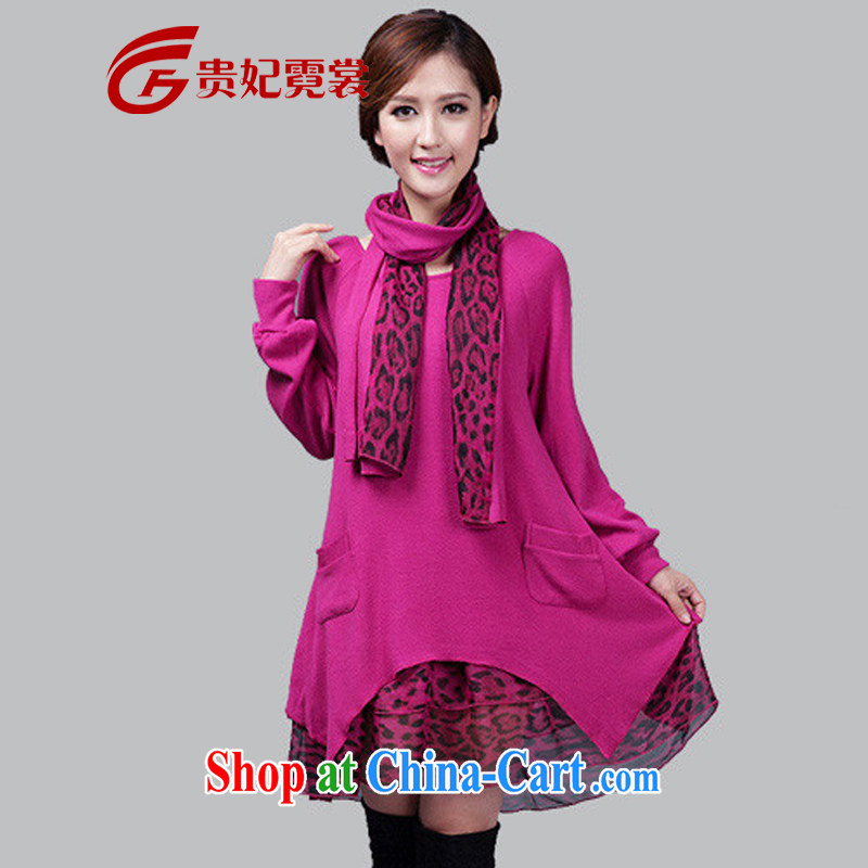 queen sleeper sofa Ngai advisory committee 2015 mm thick spring new king, female woolen knitted dress and indeed increase, two-piece long-sleeved clothing and even the red 2 XL recommendations 160 - 180 jack