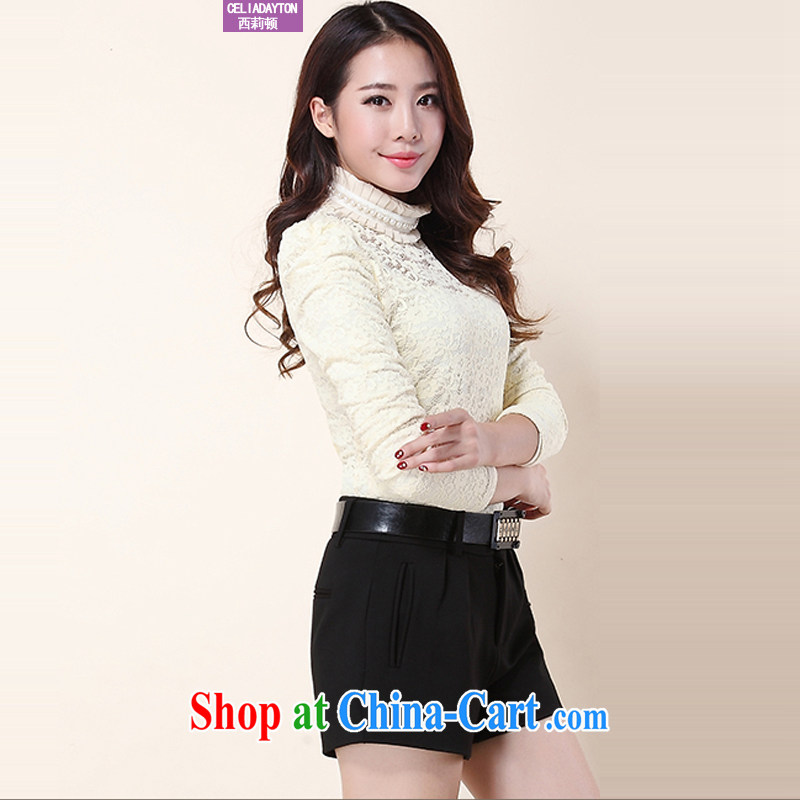 Szili Clinton's 2014 fall and winter, the female trousers new upscale thick thick mm winter Trouser Press Video thin 100 ground warm shorts boots trousers stylish trousers children black 3 XL