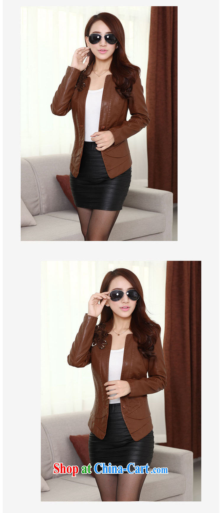 The Ju-Yee Nga thick sister graphics thin 5XL new, larger female PU motorcycle leather jacket a leather jacket YD 13,188 black XXXXXL pictures, price, brand platters! Elections are good character, the national distribution, so why buy now enjoy more preferential! Health