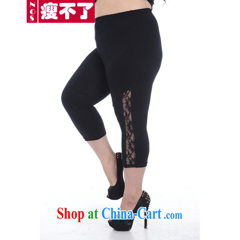 NOS thick mm King Size Code female lace 5 7 pants pants the waist graphics thin, solid pants pants A 5891 Black Large Number 2 XL 160 - 200 jack