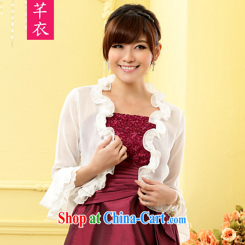 Constitution, and indeed increase, female small shawl 2015 stylish black fungus edge snow woven small shirt Web yarn horn cuff sunscreen shirts thick sister air conditioning T-shirt shawl white large XL 3 155 - 180 jack