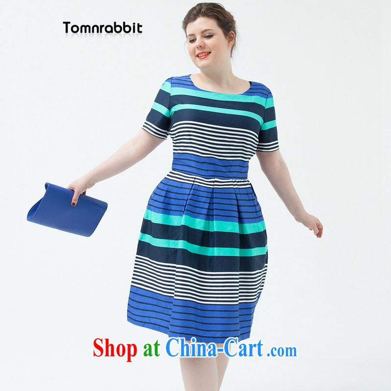 2014 Tomnrabbit new, Mr Ronald ARCULLI, the girls cotton Silk Dresses summer beauty bars Princess skirt picture color XXXL