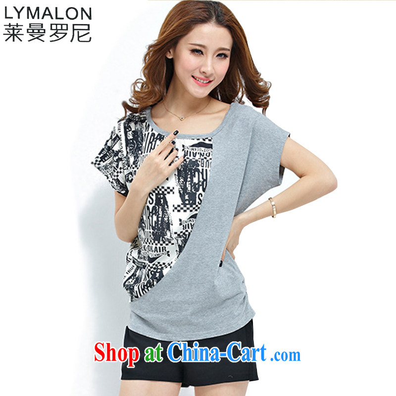 Lehman Ronnie lymalon payments summer 2014 new, thick, thin. The Code female snow-woven knitting T pension two part kit 1096 gray 5 XL