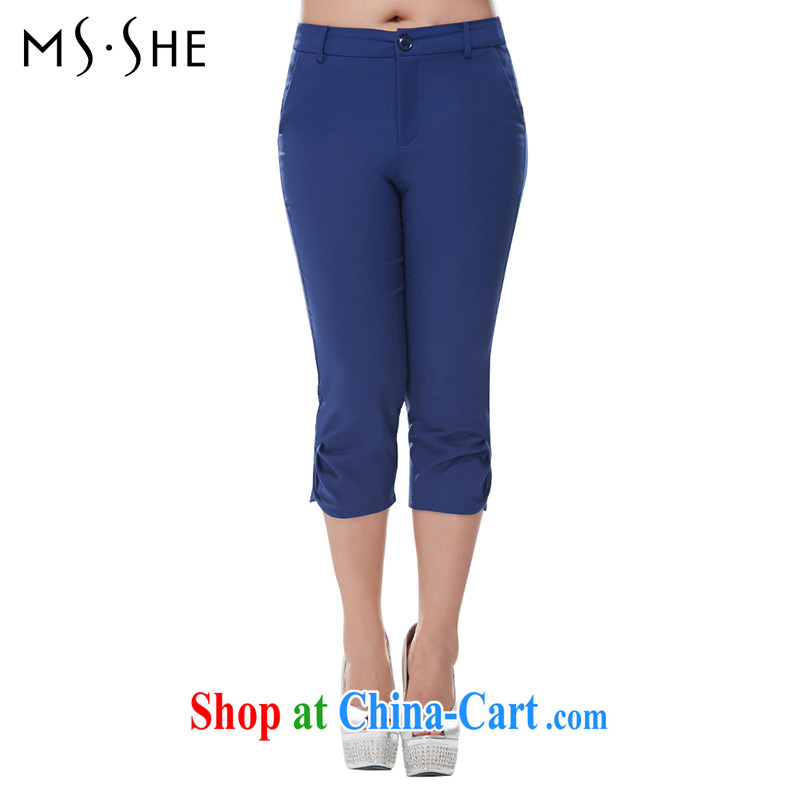 The MSSHE is indeed increasing, female 2015 summer new 7 Beauty Salon video thin suit pants 7010 new the Po Lam T 3