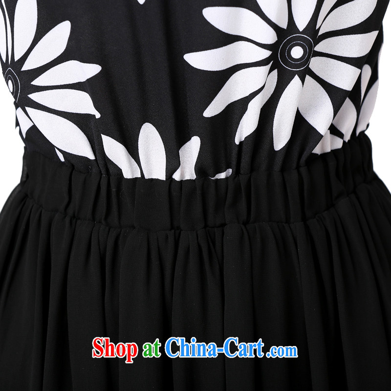 Constitution Yi XL women dress in Europe and America, antique, stamp snow woven skirts 2015 New MM thick with elastic band waist-goddess, a black large XL 5 190 - 200 jack, constitution, and, shopping on the Internet
