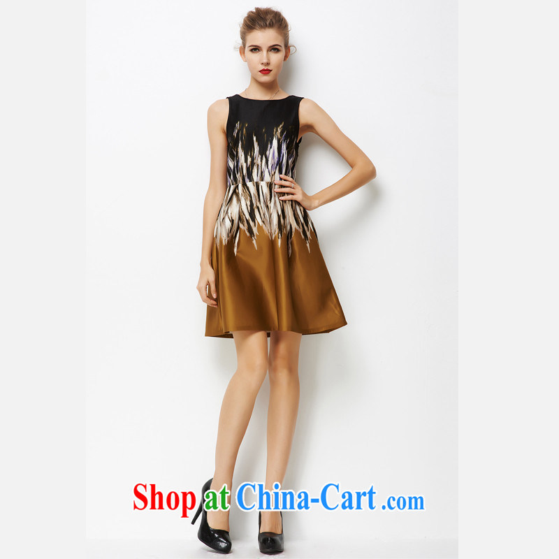 Video thin A Field dresses brown XXXL