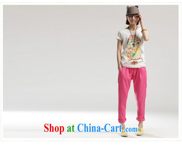 would like to heart Color cabinet 2014 Spring Summer cotton Ma castor pants loose the code pant 79 in Korean leisure pregnant women, and abdominal trousers P 1389 the red XL pictures, price, brand platters! Elections are good character, the national distribution, so why buy now enjoy more preferential! Health