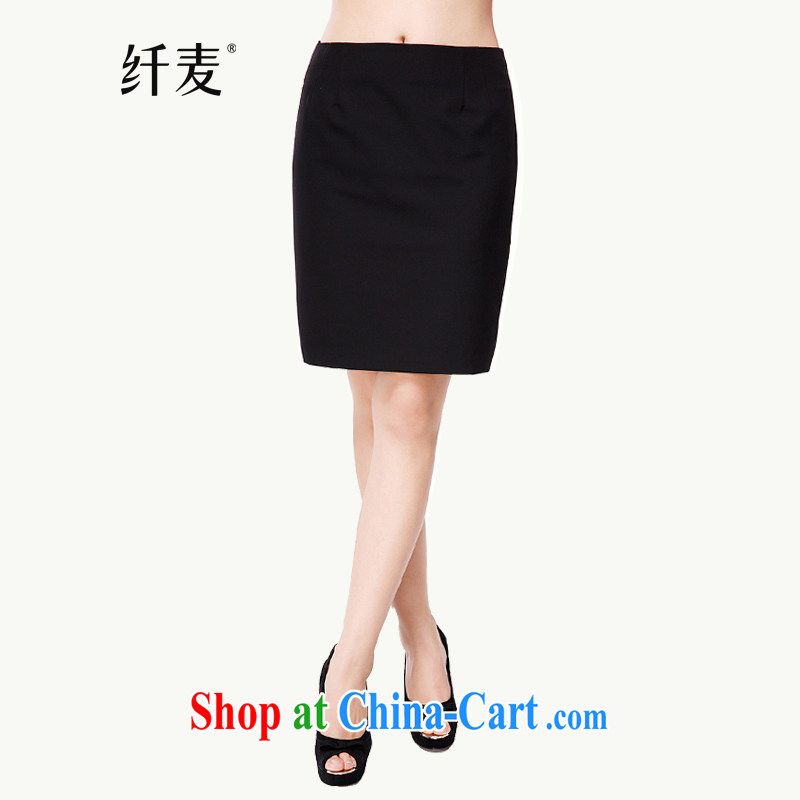 Slim, Mr Big, women fall 2014 with new thick mm video thin stylish OL minimalist package and body skirt 43,002 black L