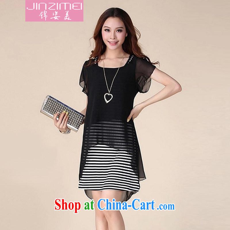 kam beauty new dress code the dress Female M 1044 black XXL