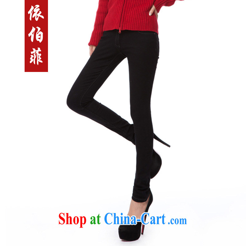 According to the Philippines 2014 Korean version of the new, thick MM and indeed XL Stretch video skinny legs jeans boots pants female Y 043 black XXL