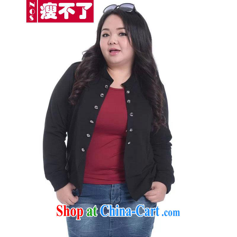 Thin (NOS) to increase, women with relaxed and stylish 100 a casual shawl jacket women jacket A 5111 Black Large Number 3 XL 200 Jack the following