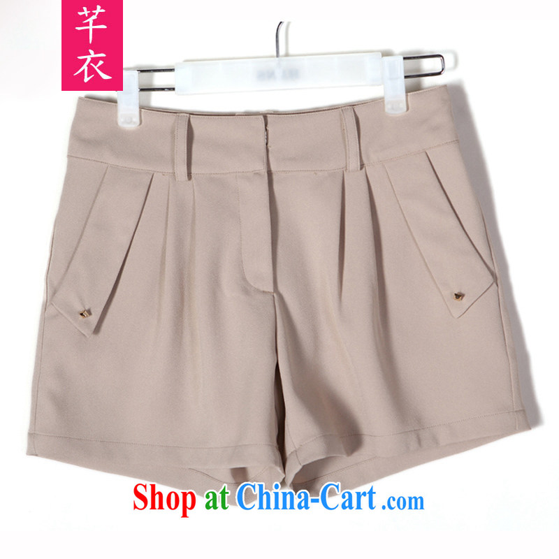 Constitution, XL girls Dress Shorts thick sister 2015 summer OL commute video thin hot pants on 100 mm ground hot pants leisure holidays, the code trouser press, color reference brassieres waist option code or the Advisory Service