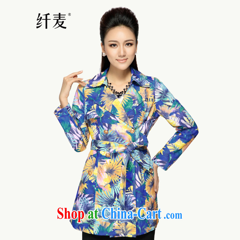 The Mak is the girl with early autumn 2014 the new thick mm stylish european loose jacket girls in long suit 43,322 2 XL