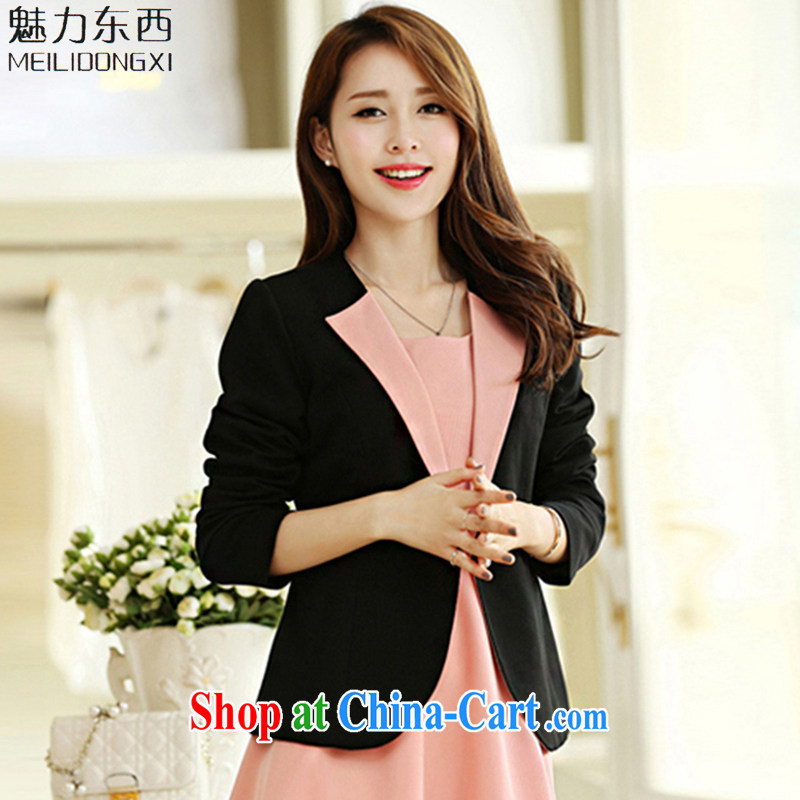What charm spring 2015, the Code women's clothing dresses new package graphics skinny jacket women T 2679 jacket XXXXXL