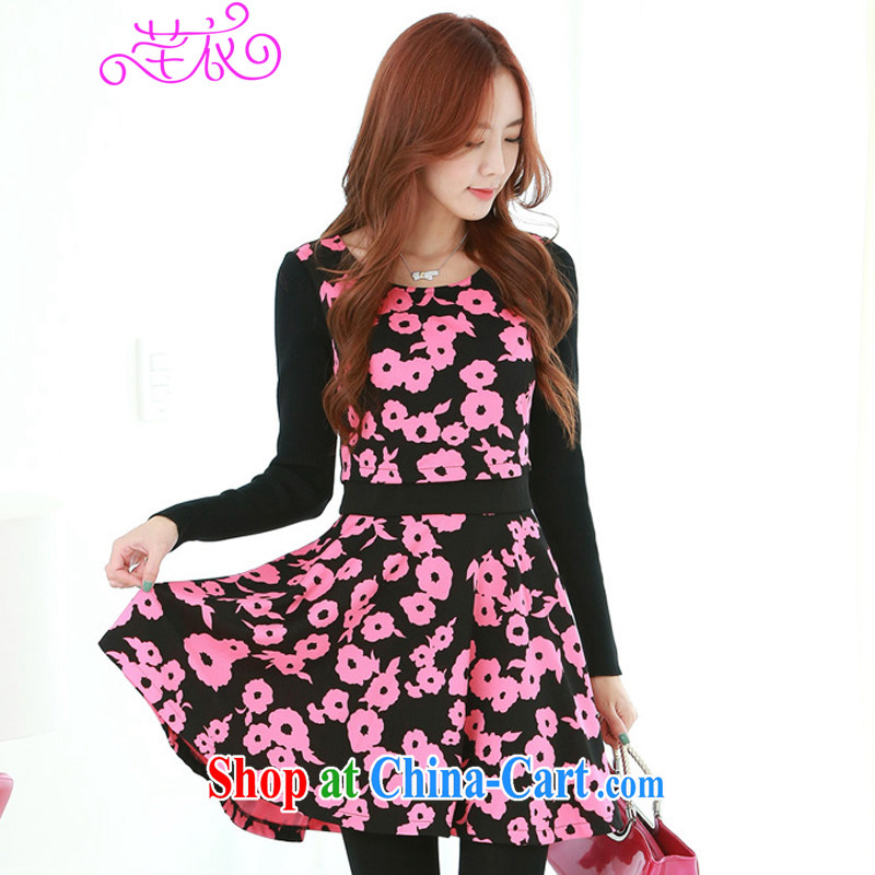 Constitution, indeed, XL girls 2015 new spring Korean style charm stamp duty leave of two part video thin long-sleeved dresses 9 saffron to reference brassieres option code or advisory service