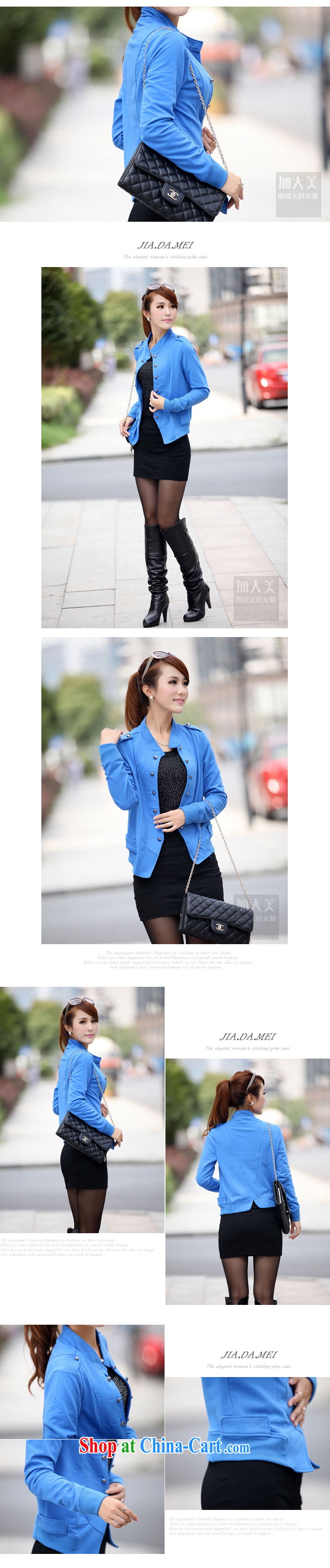 Zhang Lin , thick mm spring new 2015 larger female thick sister jacket jacket, the Netherlands small suit black 4 XL recommendations 180 - 200 Jack pictures, price, brand platters! Elections are good character, the national distribution, so why buy now enjoy more preferential! Health