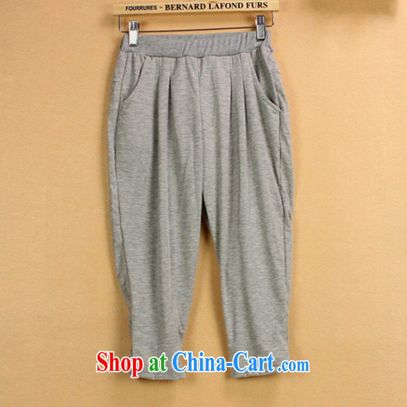 Special emphasis on SISTER and indeed XL women mm thick summer graphics thin 5 casual pants 9941 light gray 6 XL