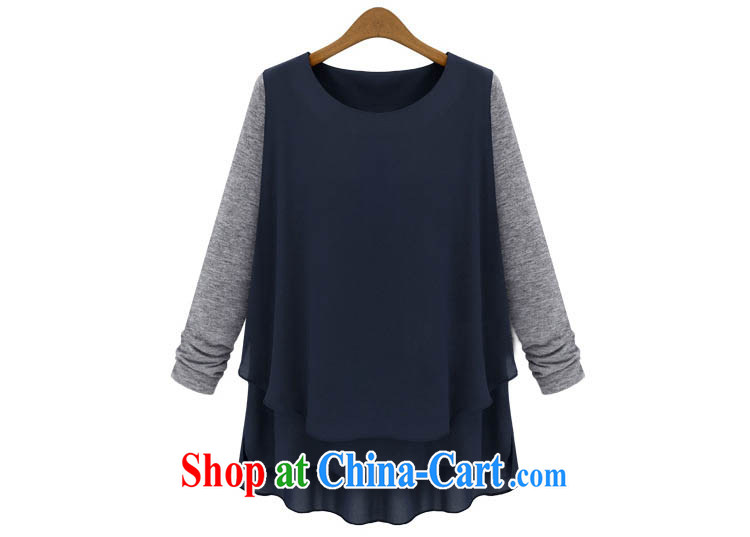 o Ya-ting spring 2014 new female and indeed XL solid T-shirt American style t-shirt long-sleeved T-shirt girls 588 dark blue 5 XL recommendations 175 - 200 Jack pictures, price, brand platters! Elections are good character, the national distribution, so why buy now enjoy more preferential! Health
