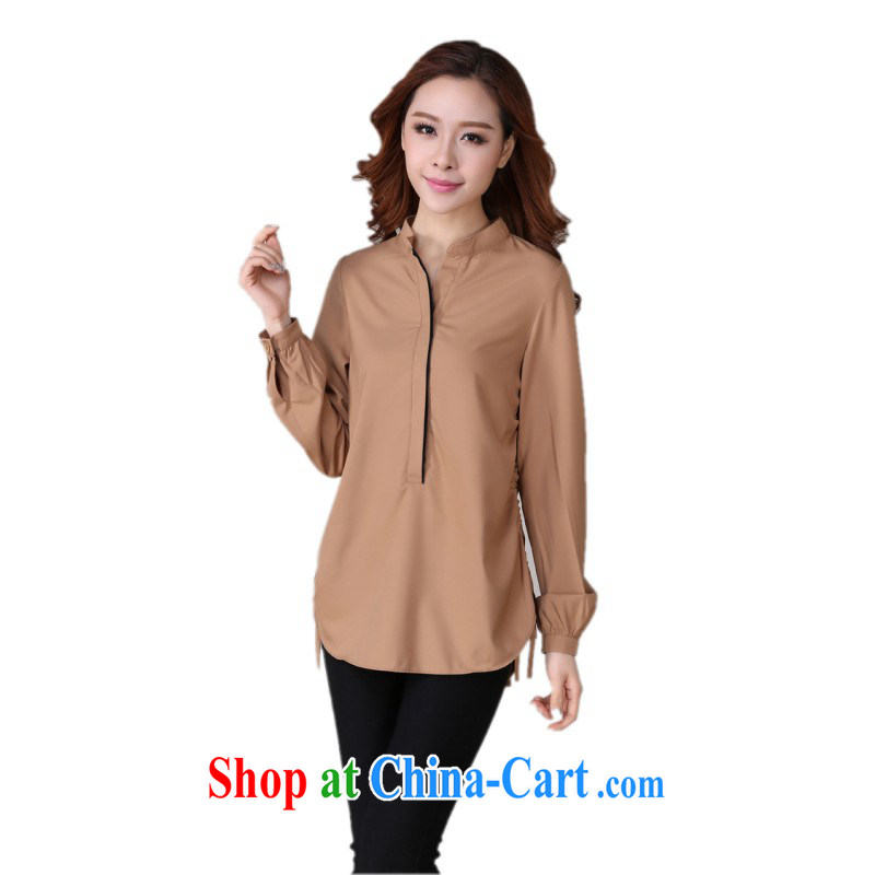 The delivery package as soon as possible e-mail is the XL female shirt 2014 autumn the Korean version, for long-sleeved card its color shirt relaxed, graphics the color XL approximately 130 - 145 jack
