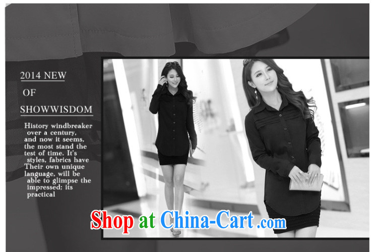 Morning would be 2015 spring new Korea and indeed XL women mm thick, long, very casual long sleeved shirt King, female shirt dark blue 5 XL recommendations 180 - 200 Jack pictures, price, brand platters! Elections are good character, the national distribution, so why buy now enjoy more preferential! Health