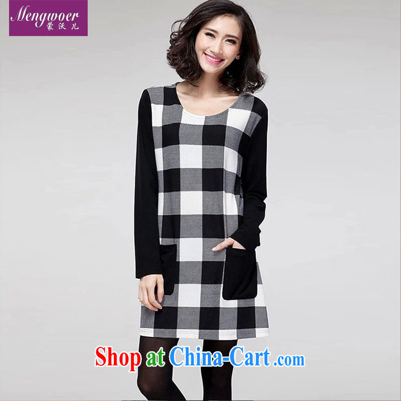 The Kosovo-care 2015 the code girl with the lint-free cloth thick thick mm new graphics thin beauty box pocket stitching long-sleeved picture color XXXXL