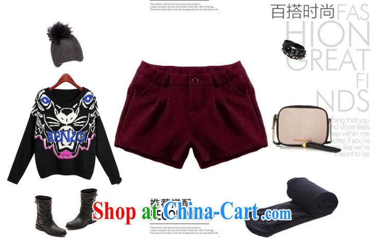 MissDonut spring 2015, thick, and indeed increase, female Korean video thin mm thick hair so shorts female, black large code 5 XL pictures, price, brand platters! Elections are good character, the national distribution, so why buy now enjoy more preferential! Health