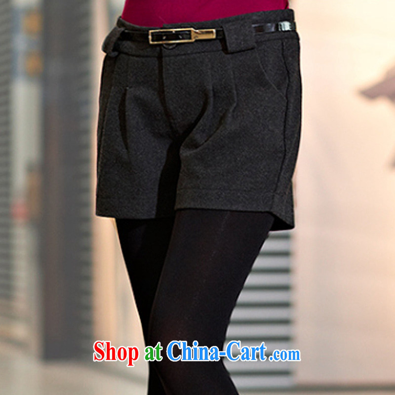 MissDonut spring 2015, thick, and indeed increase, female Korean video thin thick mm so gross shorts female, black large code 5 XL, MissDonut, shopping on the Internet