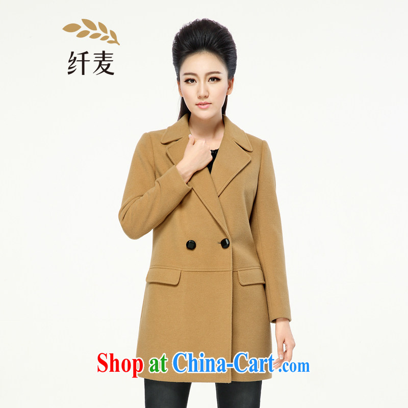 Former Yugoslavia, Mr Big, women winter 2014 the new mm thick solid color loose video thin cashmere overcoat female 944187098 and color 6 XL