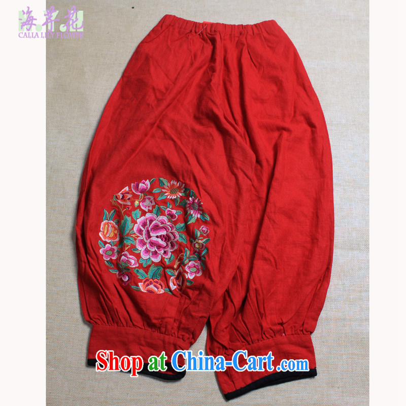 The line takes the code female Trouser press 620 red are code