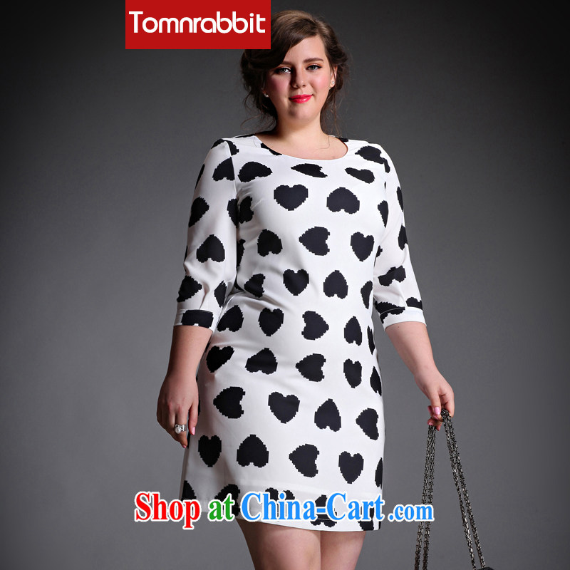 The Tomnrabbit Code women dresses new spring 2015, original design thick sister and indeed increase stamp duty further skirt picture color the code XXXL