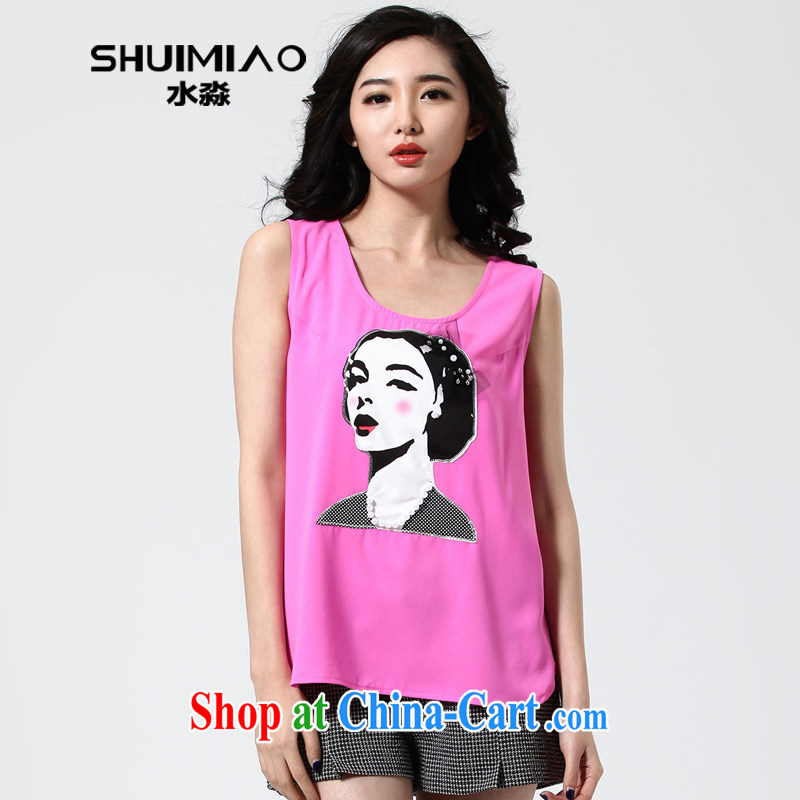 Water with Korean version the Code women 2015 spring new thick M 100 to ground, wear sleeveless strap vest S CA 15 of 4932 toner XXL