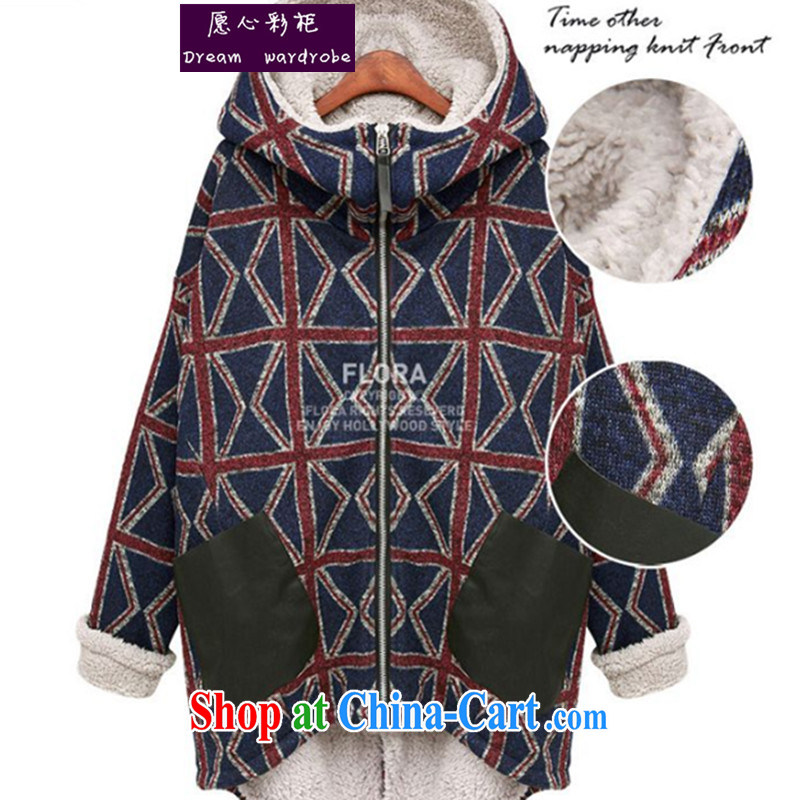 would like to heart Color cabinet winter clothing thick mm and indeed increase, female 200 Jack quilted coat thick sister Europe lamb King jacket LLP 1620 3 color XXXL