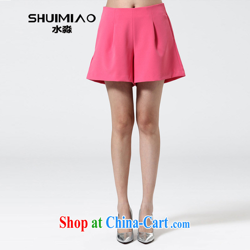 water with a large, female spring new 2015 Korean leisure high waist relaxed Wide Leg shorts S CT 15 of 5030 toner 4 XL
