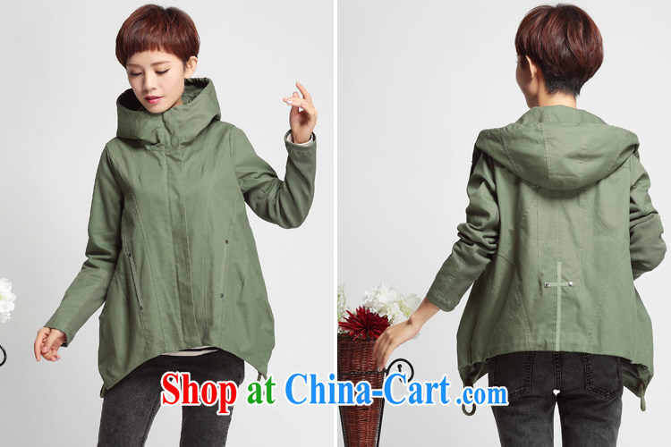 Who is Diana 2015 spring new short jacket, Korean edition cap windbreaker loose the code thin blouses khaki XXXL pictures, price, brand platters! Elections are good character, the national distribution, so why buy now enjoy more preferential! Health
