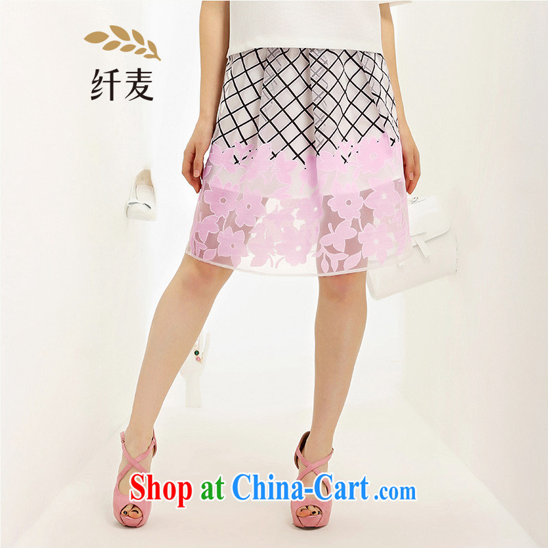 The Mak is the adolescent girls with 2015 summer new thick mm stylish stamp body skirt 652252016 pink XL
