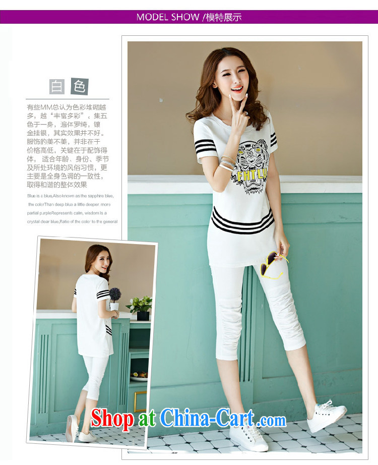 Connie Hyatt 2015 summer new large, female, long, short-sleeved 7 pants campaign kit 8135 white Kit 3 XL (140 - 155 ) jack pictures, price, brand platters! Elections are good character, the national distribution, so why buy now enjoy more preferential! Health