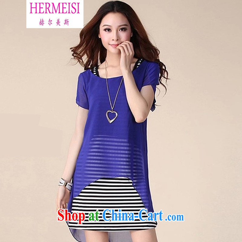 The Helms-Burton Act, the 2015 spring and summer new large version large code Solid shirt and indeed increase mm thick snow woven shirts Female M 9 blue XXXXL