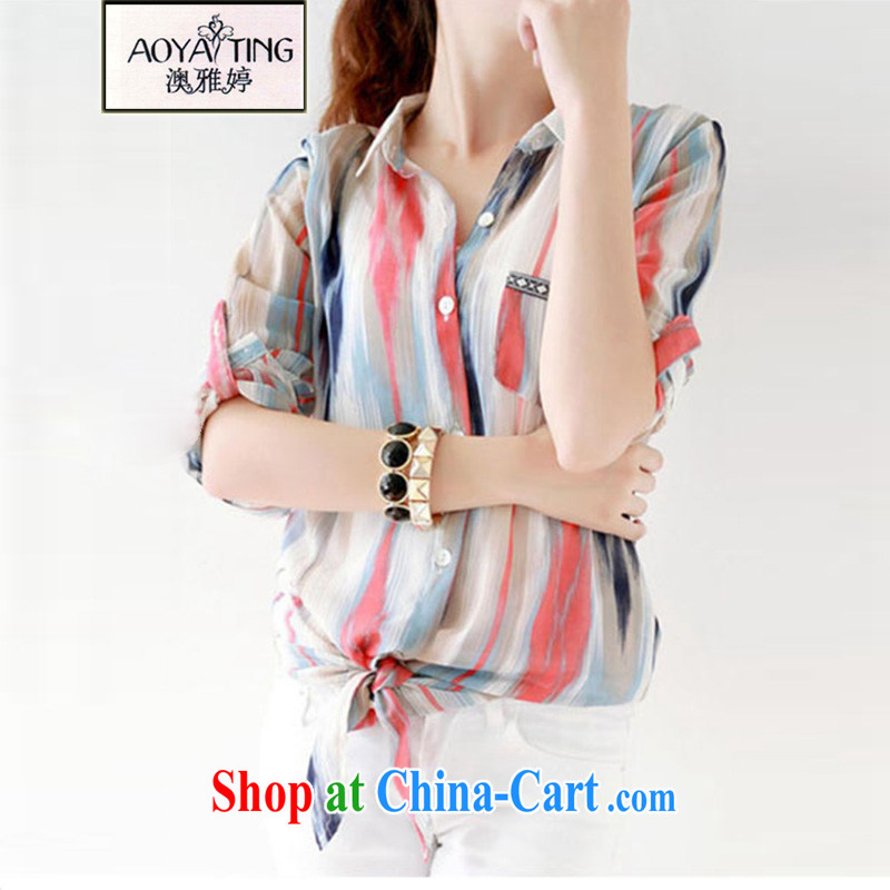 o Ya-ting 2015 new Korean summer thick snow MM woven shirts and indeed intensify, sunscreen and clothing female 51 - 10 photo color 3XL recommends that you 155 - 190 jack
