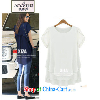 o Ya-ting 2015 summer new, larger female snow woven shirts thick MM the fat lace T-shirt with short sleeves girls 8 - 26 black 5 XL recommends that you 175 - 200 Jack pictures, price, brand platters! Elections are good character, the national distribution, so why buy now enjoy more preferential! Health