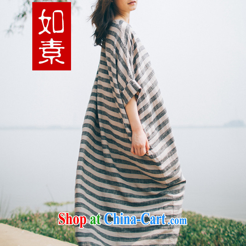 The unit of the bat sleeves ultra-Liberal Arts Major robe larger women dresses summer 3238 color pictures