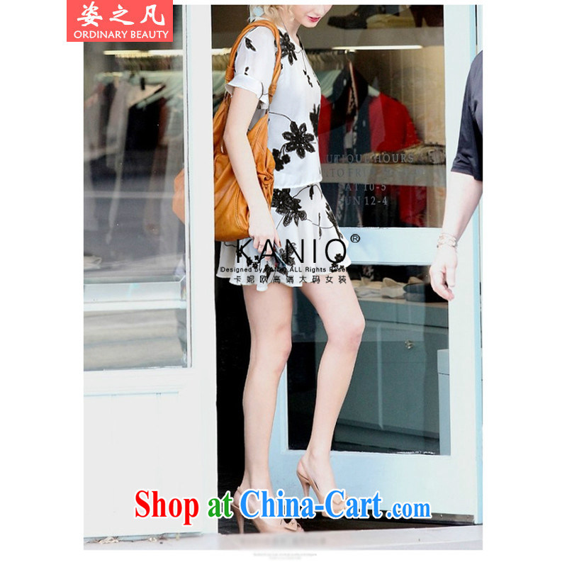 The city where the 2015 is indeed XL women mm thick summer wear shorts dresses on Europe and her sister beauty graphics thin skirt large white code 5 XL