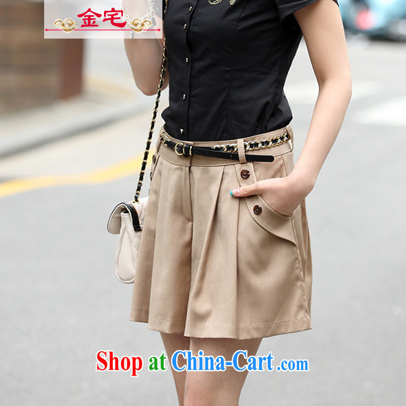 Rep. Kim 2015 summer new, around his waist in pants and skirts video thin beauty Dress Pants larger body skirt girl card its color XXXXL