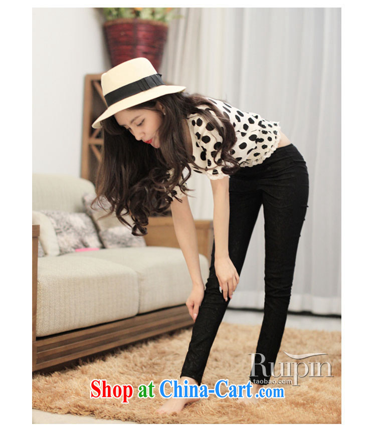 ZZ &FF 2015 spring and summer new paragraph lace trousers XL thick MM spring Beauty Salon female solid black pants XXXL (165 - 200 ) jack pictures, price, brand platters! Elections are good character, the national distribution, so why buy now enjoy more preferential! Health