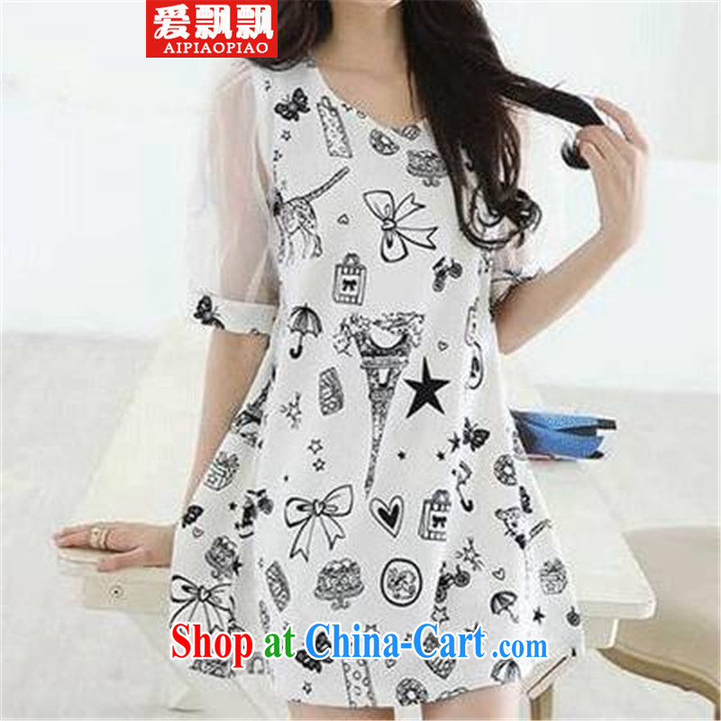 Love waving the 2015 code female and indeed increase, women in Jack cuff video thin thick sister dresses picture color the code XXXXL