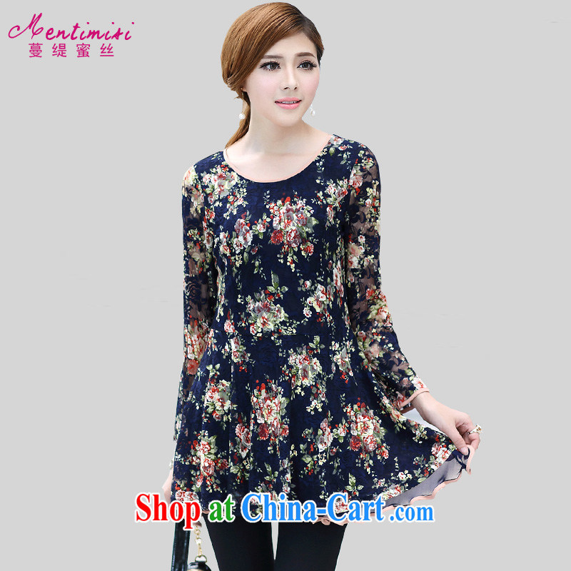 Mephidross economy honey, King, female 2015 spring loaded new thick sister sweet floral lace long-sleeved dresses video thin 2656 fancy the code 5 200 XL about Jack