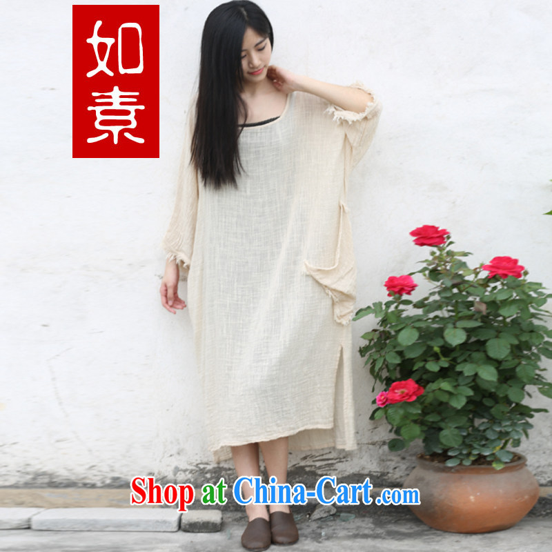 As pixel art cotton the sparse fabric loose simple code women summer dresses 3409 the color code