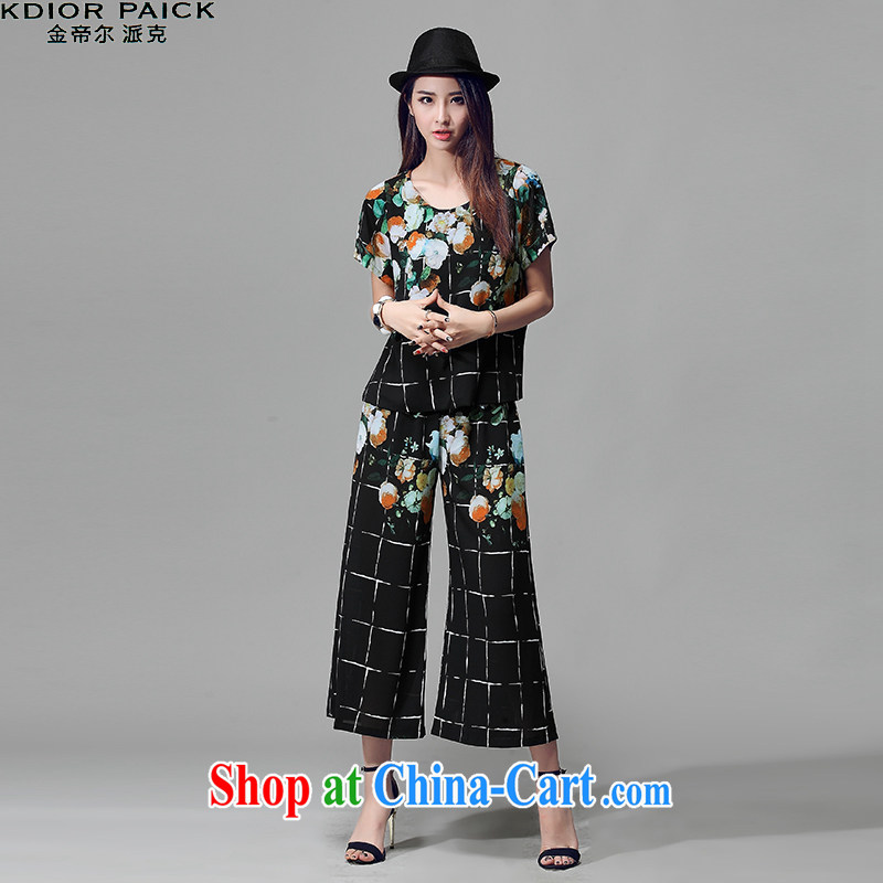 Kim in Dili, the 2015 summer the Code women video thin package V 8009 black XXXXL